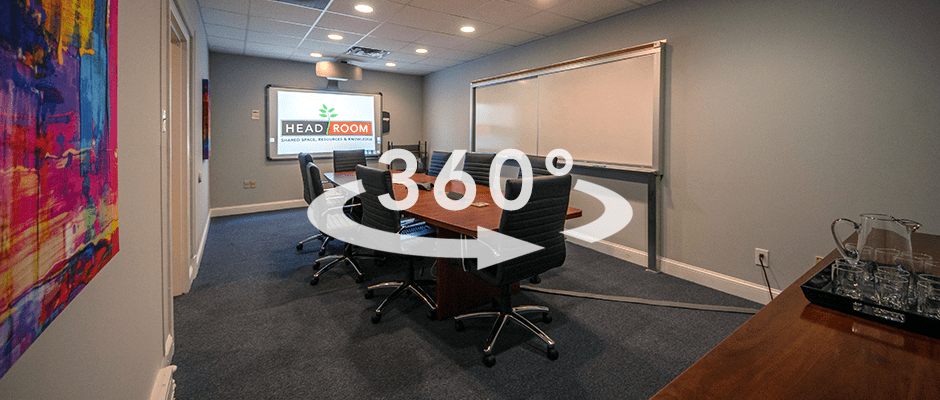 virtual tour of shared office space in media pa
