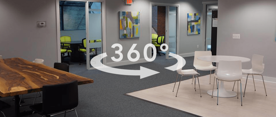 virtual tour of shared office space in wayne pa